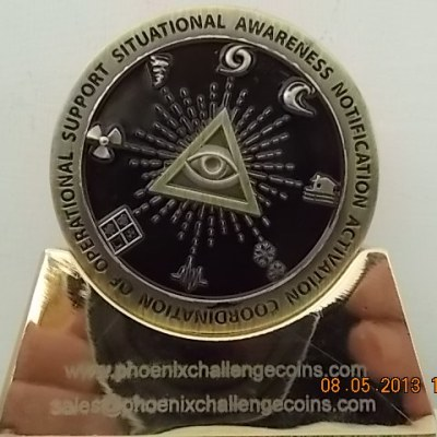 FEMA National Watch Center Custom Challenge Coin