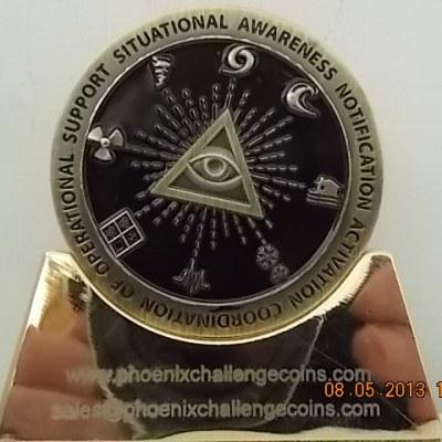 FEMA National Watch Center Custom Challenge Coin