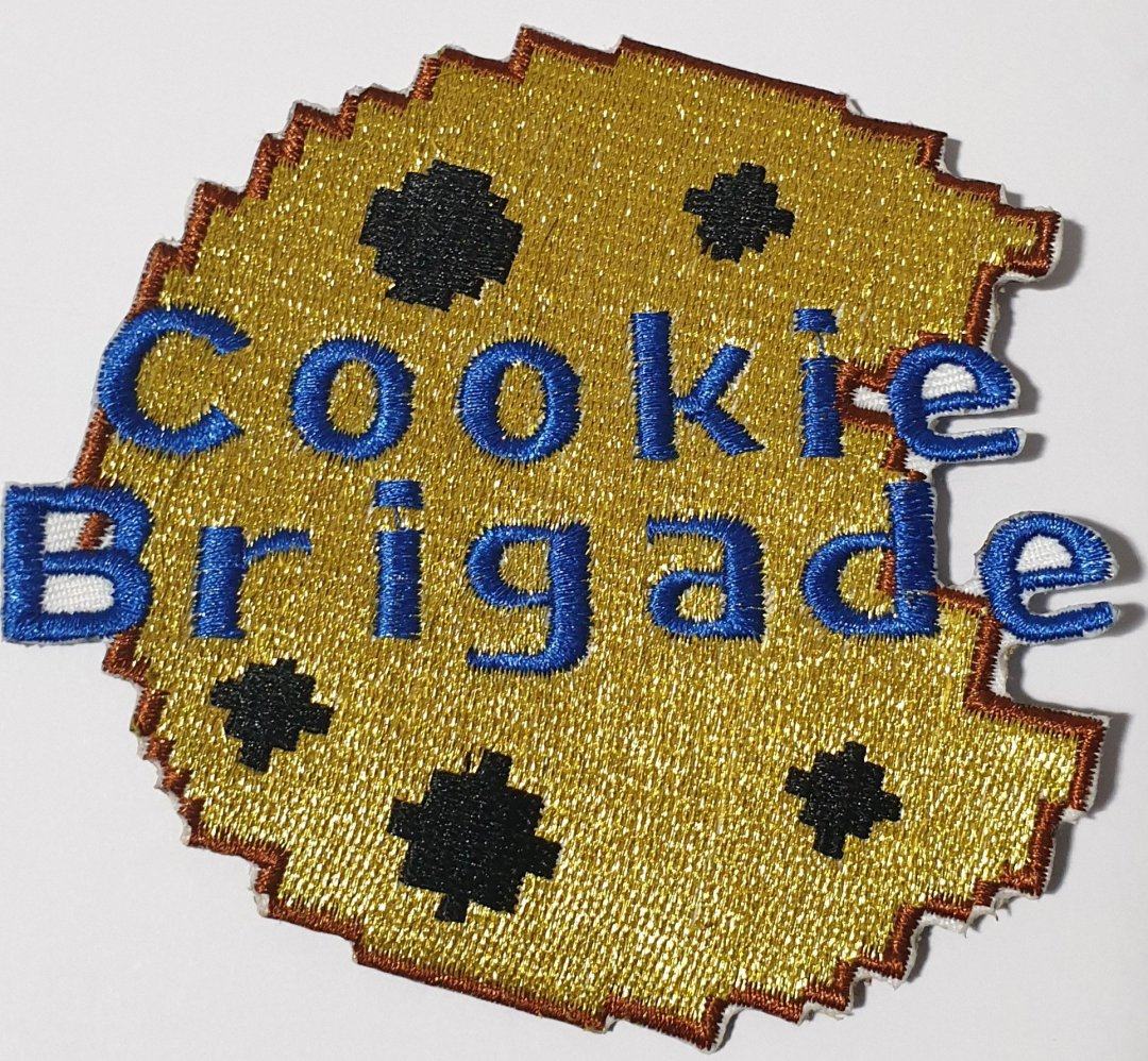 PAX Cookie Brigade patch