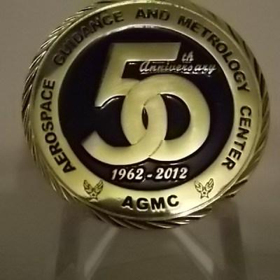 2012 AFMETCAL 50th anniv. custom coin