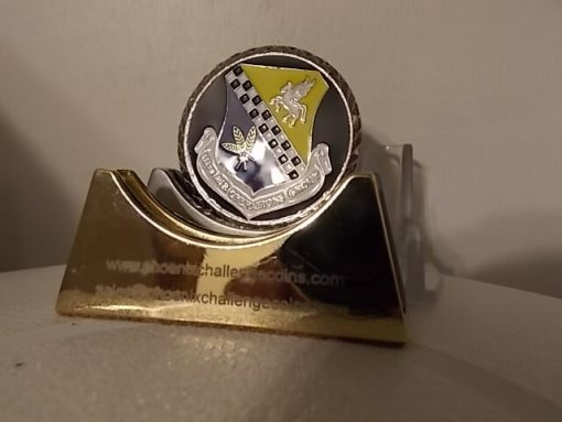 111th AOG, PAANG coin by Phoenix Challenge Coins back
