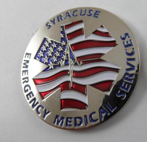 Rare Syracuse, NE EMS custom EMS coin by Phoenix Challenge Coins back