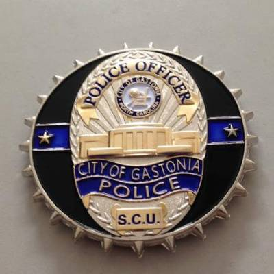 Gastonia PD Street Crimes Unit by Phoenix Challenge Coins
