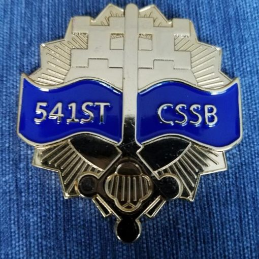 541st CSSB Combat Support Battalion Command Team OIF 10-12 Combat Challenge Coin