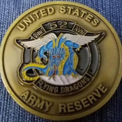 6th Bn 52nd Aviation Regiment Vietnam coin