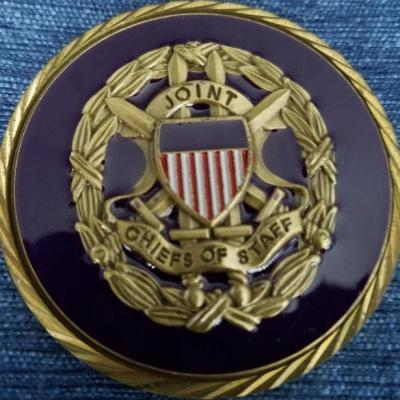 Pentagon Joint Chiefs of Staff Challenge Coin