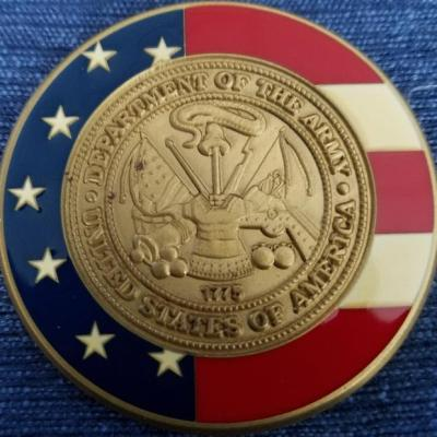 Secretary of the Army Presentation Coin Unnamed