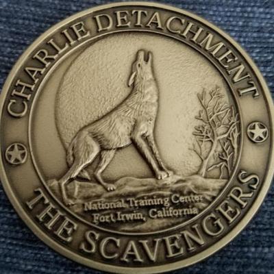 513th MI Bde 203rd MI BN Charlie Det NTC Ft Irwin Scavengers