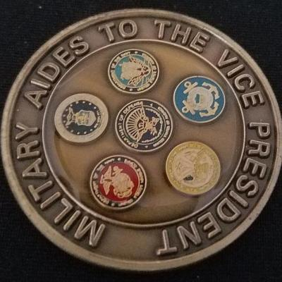 Military Aides to the Vice President of the United States VPOTUS Challenge Coin