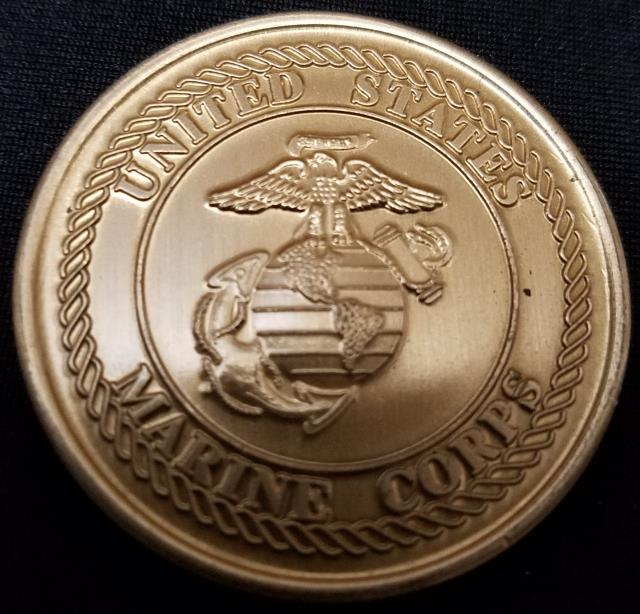 1st Marine Corps District Recruiting Station Springfield Devil Dog Challenge Coin