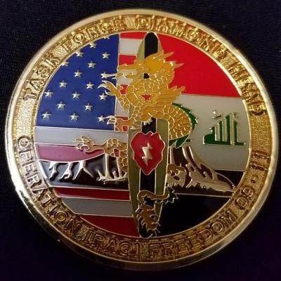 Task Force Diamond Head 25th ID Aviation Lightning Assault Combat Deployment OIF 2009-2011 Command Team Challenge Coin by Phoenix Challenge Coins