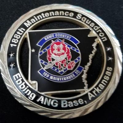 USAF 188th Maintenance Squadron 188th MXS Challenge Coin by Phoenix Challenge Coins