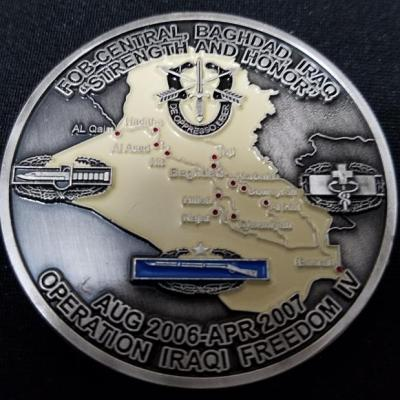 Combined Joint Special Operations Task Force-Arabian Peninsula CJSOTF-AP FOB Baghdad 5th Anniversary of 9/11 Awarded in Combat Challenge Coin Numbered 175