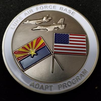 Luke AFB Substance Abuse Recovery Program Survivor Challenge Coin by Phoenix Challenge Coins