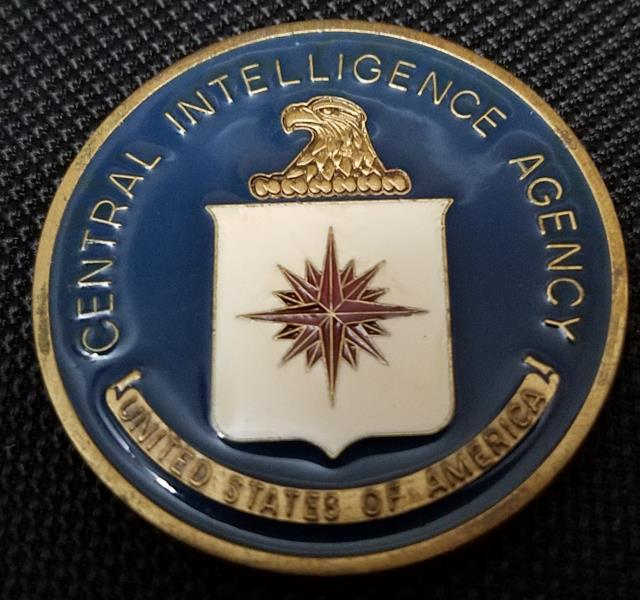 Rare Authentic Central Intelligence Agency CIA Office of Military Affairs Challenge Coin