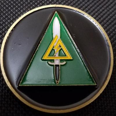 Early JSOC CAG DELTA Tier 1 challenge coin
