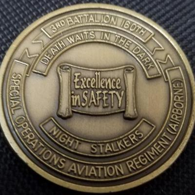 ARSOAC 160th Special Operations Aviation Regiment 160TH SOAR(A) 3rd Battalion Safety excellence Night stalkers Challenge Coin
