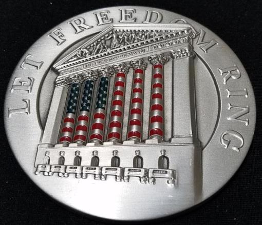 New York Stock Exchange NYSE September 11th Anniversary made By Tiffany & Co large Medallion