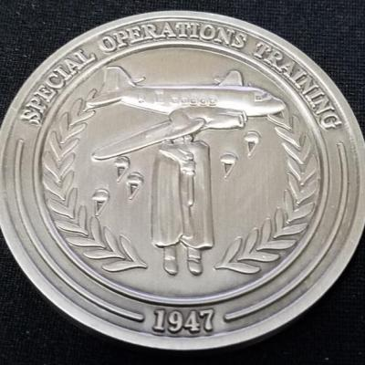 Ultra Rare Central Intelligence Agency Directorate of Operations National Clandestine Service Special Operations Training CIA DO NCS SOT V1 challenge coin back