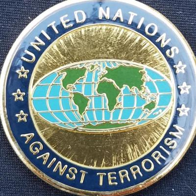 UN Operation Enduring Freedom challenge coin