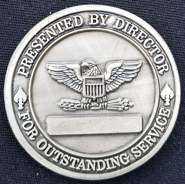 AFSOC Director SOF SPO US Air Force Special Operations Command Special Operations Forces Systems Program Office Challenge Coin back