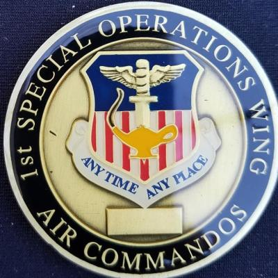 AFSOC 1ST SOW Air Force Special Operations Command 1ST Special Operations Wing Commanders Challenge Coin
