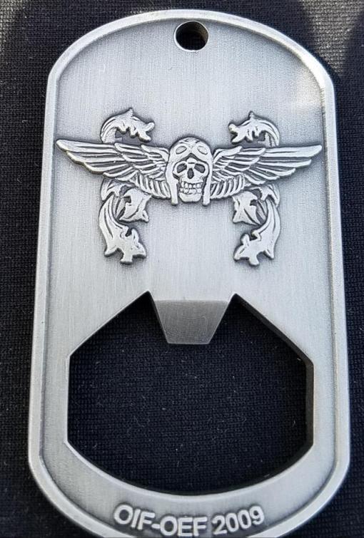 HMH-262 Screw Crew OIF 09-10 Deployment Bottle Opener Challenge Coin by Phoenix Challenge Coins back