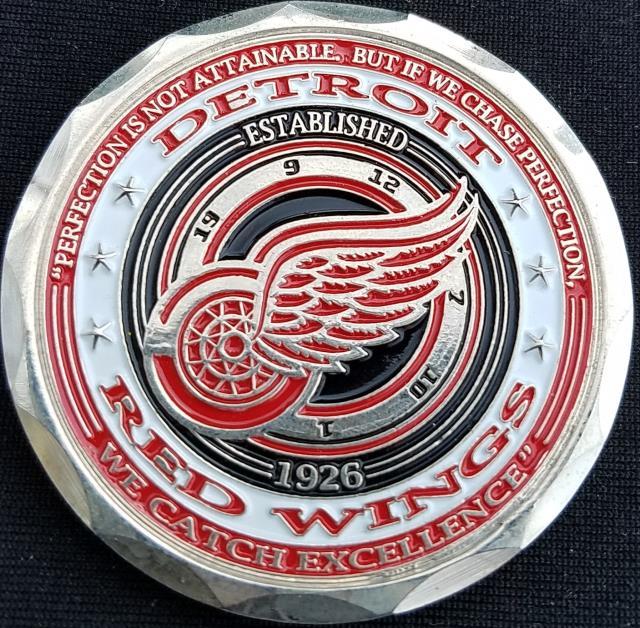 NHL Hockey Custom Challenge Coins - Phoenix Challenge Coins