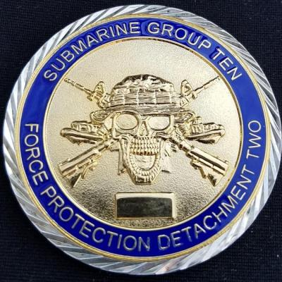 US Navy Submarine Group 10 Custom Challenge Coin by Phoenix Challenge Coins