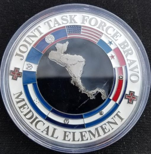 Joint Task Force-Bravo Medical Element SOUTHCOM 325th CSH Combat Surgical Hospital Command Team Hondo 2 custom challenge coin by Phoenix Challenge Coins