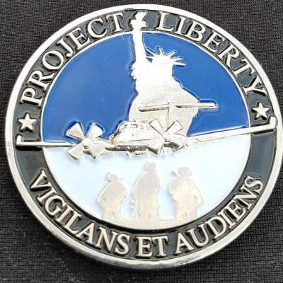 US DOD Project Liberty ISR Combat Proof of concept Program OEF 2011 Custom Aviation Challenge Coin by Phoenix Challenge Coins