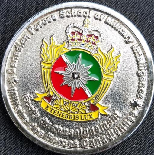 Canadian Defense Forces Intel School Commandant's Award v2 by Phoenix Challenge Coins