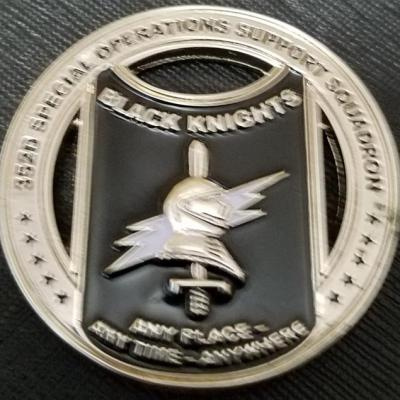 USAF AFSOC 352nd Special Operations Group OSS Operational Support Squadron Black Knights Challenge Coin