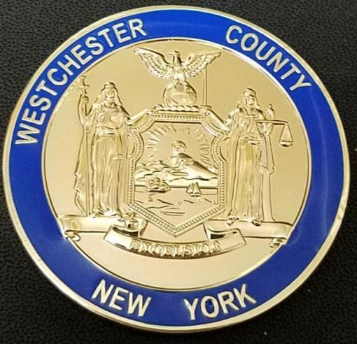 Critical Incident Support Network Line of Duty Death Incident Support Network Westchester County New York Custom Coin back