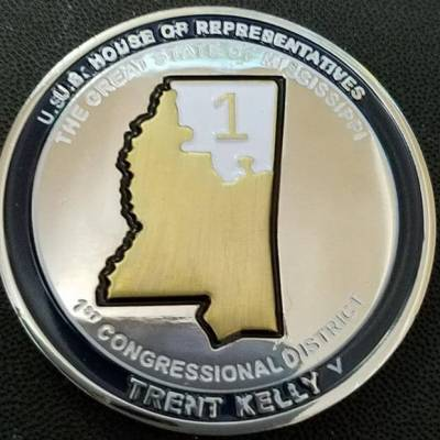 Congressmen Trent Kelly Mississippi 1st Congressional District Col Kelly M ANG Commander's Challenge Coins