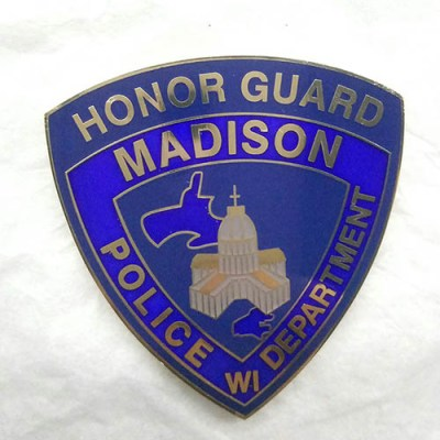 Madison WI PD Honor Guard coin
