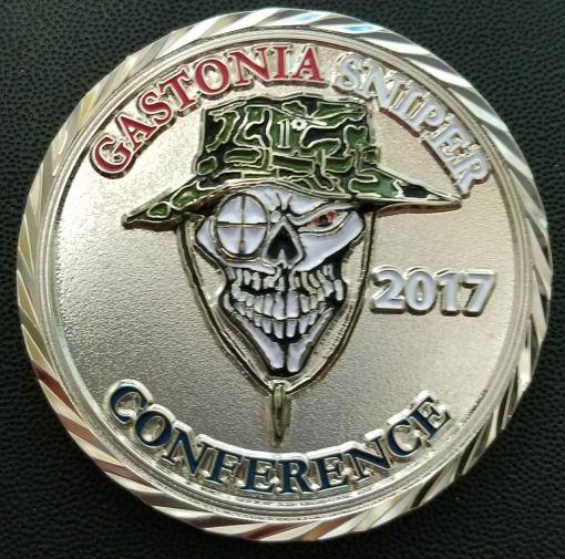 Gastonia Sniper Conference 2017 frontside