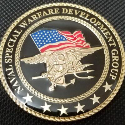 Rare current JSOC Tier 1 US Navy SEAL Team 6 NSWDG DEVGRU CB Seabee Det Facilities Challenge Coin