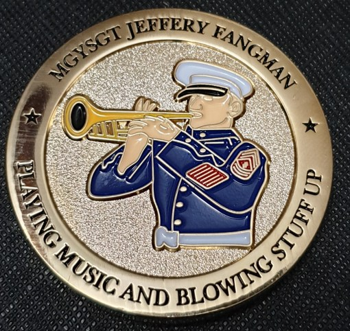 MGYSGT Jeffery Fangman retirement challenge coin back