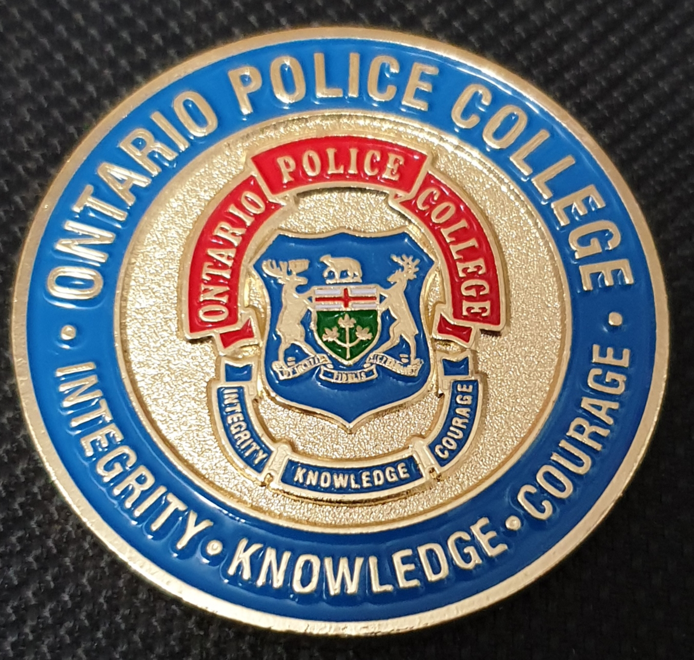 Ontario Police College Canadian Police challenge coin - Phoenix Challenge  Coins