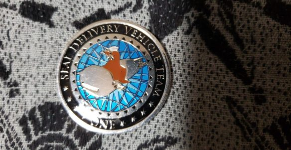 Authentic Rare Seal Delivery Vehicle Team One SDVT-1 Delta Platoon seal  team challenge coin