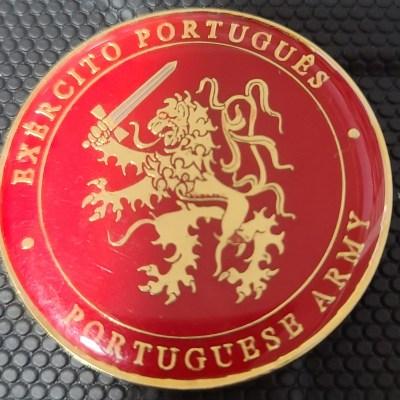 Rare Portuguese Army Chief of Staff Challenge Coin