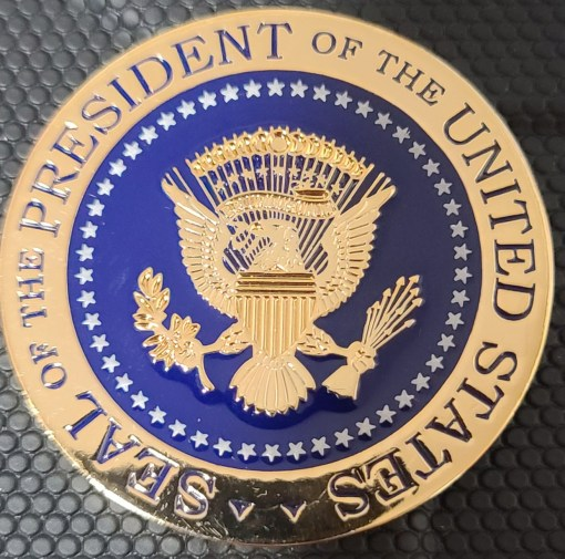 US Executive Office of the President WHMO White House Military Office Ceremonies and Protocol Challenge Coin
