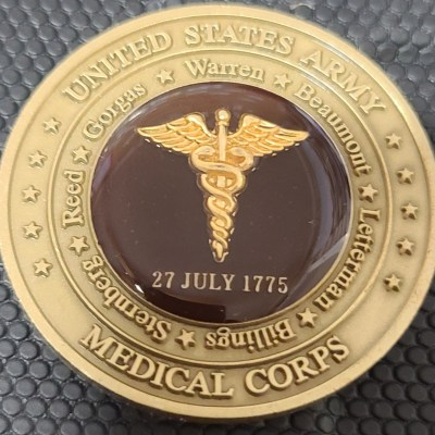 US Army Chief of the Medical Corps MG Commanding General Challenge Coin