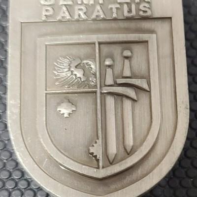 Polish Army 15th Mechanized Brigade Brigadier General Jarosław Gromadziński WILK Commanders Coin