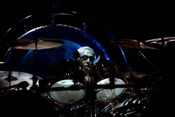 Van Halen in concert at the Ak Chin Pavilion in Phoenix, AZ on September 28, 2015.