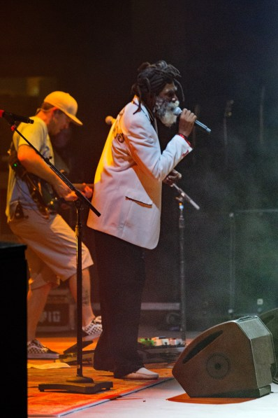 Don Carlos performs with Slightly Stoopid on July 8, 2016 at Mesa Amphitheatre.