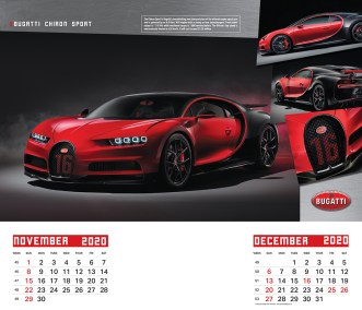 2020 Dream Machines Calendar