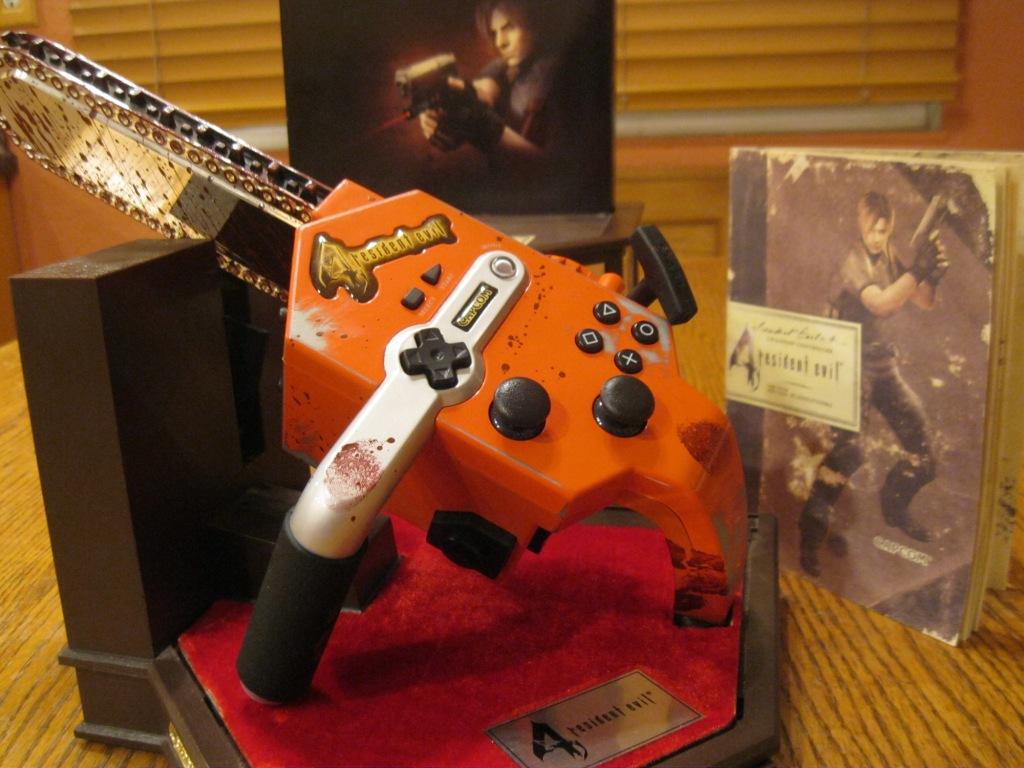 Resultado de imagem para Resident Evil 4 Chainsaw controller