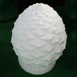 Stone Garden Urn Memorial Fir Cone